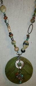 Silpada Jewelry - Authentic Silpada 'Kabkaban Wood' Leaf Necklace